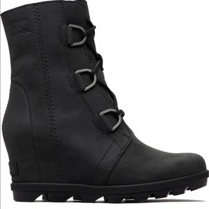 Sorel black Joan of Arctic Wedge II
